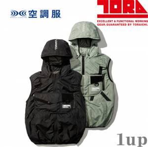 M-5L空調服作業服寅壱1074-662エアーべスト(夏用)(ファン無し)