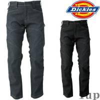 Dickies作業服作業着D-1435ストレッチデニムカーゴパンツ「M-5L」(年間)