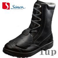 安全靴シモンスターシリーズSS33D-6黒樹脂甲プロ23.5cm-28.0cm(1825580)(新1520100)(シモン安全靴)